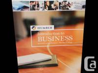 INTRODUCTION TO BUSINESS: Humber Custom Edition PEARSON