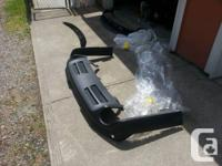 Exceptional condition stock rear bumper valence for a