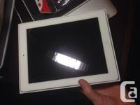 White iPad 2, 64gb WiFi model Perfect condition NO