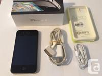 Iphone 4 - (8 GB) in excellent condition - no