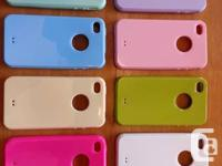 Brand new colorful iphone 4 cases for sale... Anti