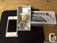 For sale is a very good conditions IPhone 4S locked to