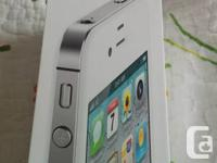 Hi,  I am selling an iPhone 4S, 16GB, White for sale