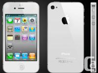 LIKE NEW condition, iPhone 4S-16gb, WHITE or Black