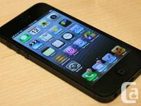 Offering a near-mint disorder black 16GB apple iphone