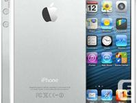 MINT 10/10 IPHONE 5 16GB WHITE FIDO COMES WITH BOX USB