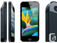 Titles says it all. Black iPhone 5 32GB black locked to