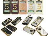 Iphone 5 & Iphone 5S LUXURY FLIP CASES  ***WOOOOOOW***