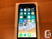 iPhone 6 64 gb. Space Grey. with Rogers but can be