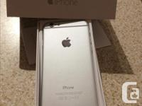 Excellent condition iPhone 6 16 GB Silver. Device has