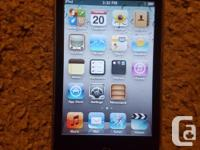 iPod Touch 3rd Gen 32GB. The LCD display and screen
