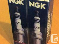 Two NGK iridium connects, all new in the box,