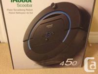 All new in box iRobot Scooba Floor Scrubbing Robot