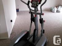 Professional grade elliptical trainer, very lightly