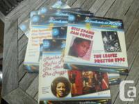 """Italian import LP's titled """"La Grande Storia Del Rock"""","""