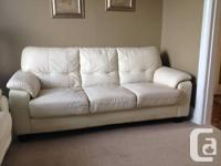 ITALIAN LEATHER COUCH, LOVESEAT & CHAIR SET Quality