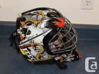 Ice hockey ITECH Profile 1000 Junior Goalie Mask Used 1