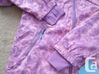 A lovely Ivivva by Lululemon jacket in a soft pink and