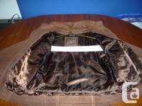 Jacket - brown, large, clean, warm Brown jacket,