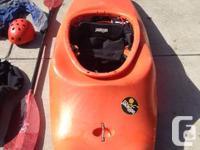 Jackson 4 Fun Whitewater Kayak.  Used less than a dozen for sale  British Columbia