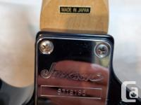 Up for grabs is my Made in Japan Jackson Kelly. All the