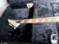 Guitar is in excellent condition, no chips in the fins
