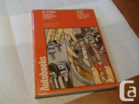 Used, E TYPE WORKSHOP MANUAL -Autobook edition - for 3.8 and for sale  British Columbia