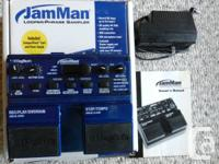 JAM MAN LOOPER -- USED JUST ONCE!!  NO LONGER AVAILABLE