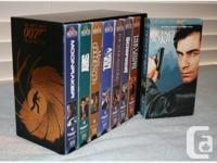 For the connoisseur that likes his tapes: - James Bond
