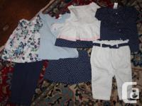 For sale is a 7 piece set from Janie and Jack's Capri