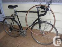 """Takara Grand Touring bike, 25"""" frame -- for parts only"""