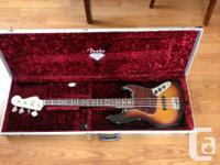 4-String Fender Jazz Bass with Alder Body, Maple Neck,