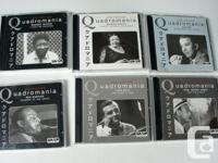 Up for your consider are 6 set of CD with artist as