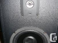 JBL 2800 Speakers. Nice sound from small speakers with