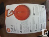 new JBL Bluetooth speaker still in the package