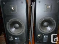 Hi, this is a nice set of JBL model 2800 Speakers. They