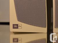 WORK AND SOUND LIKE NEW Clean, smoke-free This JBL line