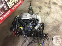 JAPANESE MOTORS JDM Mazda RX-7 13B Twin Turbo Engine 5