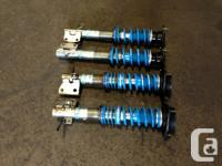SUBARU WRX STI VERSION 7 & 8 bilstein ADJUSTABLE
