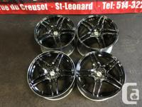 JDM ADVAN MODEL 5 TWIN 5 SPOKES MAGS 17''INCH FRONT