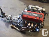 JDM HONDA S2000 F20C ENGINE, 6 SPEED MT TRANSMISSION,