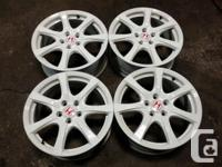 JDM FD2 CIVIC TYPE-R MAGS 18'' OFFSET 60. 18X7.5. ACURA