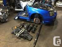 USED JDM SUBARU IMREZA WRX STI VERSION 8 SPEC-C TWIN