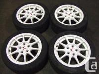 JDM HONDA, ACURA INTEGRA DC2 TYPE-R WHITE MAGS WITH