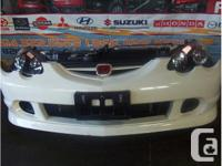 JDM HONDA, ACURA RSX DC5 TYPE-R FRONT END, NOSE CUT,