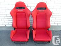 JDM HONDA ACURA RSX DC5 RECARO SEATS TYPE-R - Pair of