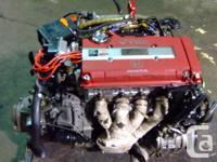JDM HONDA CIVIC B16B TYPE R 1.6L OBD2 1998+ ENGINE, MT