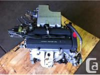 JDM HONDA B20B CRV B20Z OBD2 ENGINE FOR SALE