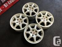 JDM Honda Civic Type-R EK9 CTR 15x6 5x114.3 OEM Wheels