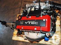 JDM HONDA S2000 2.0L F20C ENGINE, 6 SPEED MT